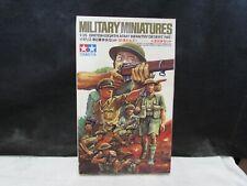 MILITARY MINIATURES British Eighth Army Infantry Desert Rat model kit Tamiya NOS