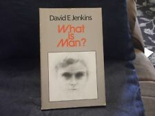 PAPERBACK BOOK DAVID E JENKINS WHAT IS MAN 1985 GOOD COND