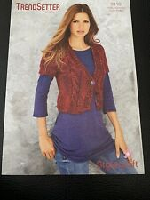 "Stylecraft Trendsetter Chunky Ladies Bolero Knitting Pattern 9110 Sizes 28-46"""