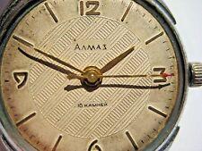 1950s SOVIET RUSSIAN MILITARY ALMAZ PRECISION CHRONOMETER ZENITH-135 Watch