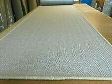 100% WOOL WOVEN FLATWEAVE RUG/CARPET MAT RUNNER 80cm x 318cm Retail £310