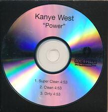 Kanye West Power RARE promo acetate CD single '10