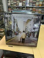 Oasis 2 LP WHAT'S The Story Morning Glory 2014 Versiegelt