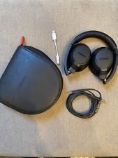 Bose Soundtrue On-Ear headphones | Case & IPhone Jack Adapter | New Ear Cushions