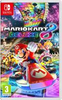 Mario Kart 8 Deluxe (Nintendo Switch) Classic Go Cart Fun DrivingVideo Game