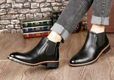 Handmade Mens Comfortable ankle leather boot, Men black leather Chelsea boots