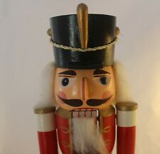 Vintage Christmas Nutcracker Enesco Soldier 13 Inches Hard to Find!