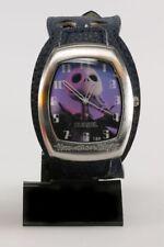 Horlogerie Etrange Noël de Mr. Jack (L') Montre,  Bracelet cuir bleu