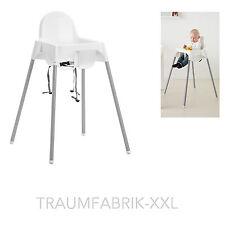IKEA ANTILOP Kinderhochstuhl Hochstuhl Kindersitz + Sicherheitsgurt Babysitz NEU