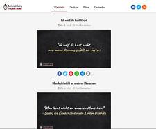 Webseite echtnichtlustig.de & erfolgreiche gleinachmige Facebook Gruppe ( 1500)