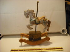 Willett's Rocking Carousel Horse Carousel Waltz Music Box