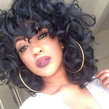 Synthetic Curly Wigs for Black Women Afro Kinky Curly Hair Bob Cut Short  Wig