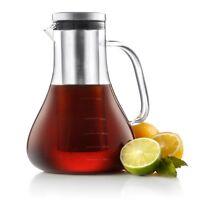 JoyJolt Infuso Cold Brew Coffee Maker, 1.5 Liter- 48 Ounce Glass Tea Maker