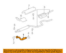 Chevrolet GM OEM 04-08 Malibu 2.2L-L4 Exhaust System-Front Pipe 15252461