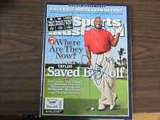 Lawrence Taylor Autograph / Signed Sports Illustrated Magazine July 3, 2006 PSA