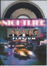 NIGHTLIFE - Flavium CD SINGLE 2TR CARDSLEEVE 1991 Blues HOLLAND RARE!!