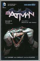 Batman Vol. 3: Death of the Family DC Comics The New 52 TPB (VF/NM)