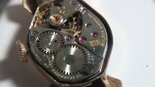 Bulova watch vintage 10k rolled gold, movement 6CB, 17 jewel, needs cleaning