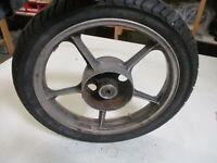 7. Kawasaki GPZ 305 EX305A BD Felge hinten 2,15x18 R-1129 Hinterrad Reifen BT45R