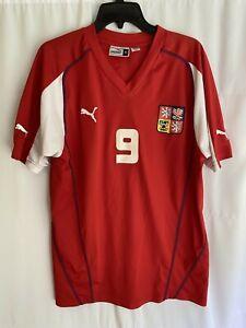 Czech Republic #9 Koller Puma Football Soccer Jersey Mens XL
