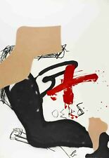 Antoni Tapies-Chicago International-1987 Lithograph-SIGNED