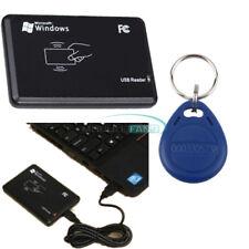 125Khz EM4100 USB lector de tarjeta de identificación RFID Sensor Inteligente Con Cable IC Claves Etiquetas Keyfob