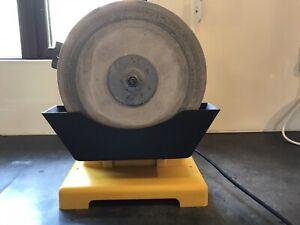 Lutz wet stone bench grinder