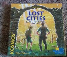 LOST CITIES 1999 Kosmos/Rio Grande Games Reiner Knizia exploration card game