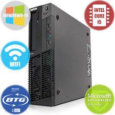 Lenovo Desktop Computer M90 PC Intel i5 Dual Core 3.1GHz 8GB 500GB HD Windows 10