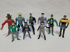 New ListingVintage Kenner Action Figure 1993 Batman the Animated Series Lot of 9 Figures