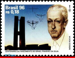 2577 BRAZIL 1996 ISRAEL PINHEIRO DA SILVA, POLITICIAN, MI# 2694 RHM C-1992, MNH