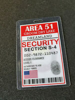 Area 51 Groom Dry Lake ID Badge-Security Section S-4
