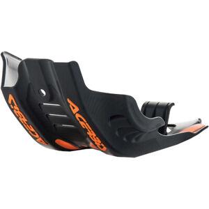 Acerbis MX KTM/Husqvarna SXF/FC 450 19-22 Black/Orange Motocross Skid Plate