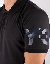 Y-3 (adidas x Yohji Yamamoto) Men's Logo Pique Polo Shirt S Black $110 *NWT*