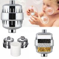 10-15 Stage Shower Bath Head Composite Water Softener Chlorine Purifier