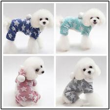 Small Dog Cat Clothes Stars Jumpsuit Puppy Pet Hoodie Coat Pet Apparel Costumn
