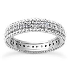 .80 Carat Round Cut D VS Diamond Solitaire Engagement Ring 14k White Gold