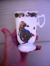 Vintage Royal Tara Irish Bone China Gal Way Ireland Mug Handmade Rare Letter D