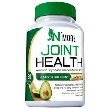 Avocado Soybean Unsaponifiables Joint Health Supplement 400 mg, Non-GMO, Dairy,
