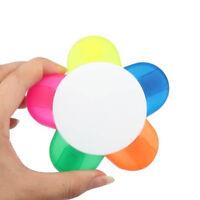 Gift Supplies For Kids Novelty Watercolor Markers Pen Highlighter Sun Flower