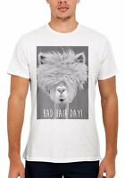 Bad Hair Day LLama Lama Hipster Funny Men Women Vest Tank Top Unisex T Shirt 329