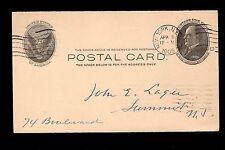 D Madden Fine Fruit Mango Alligator Pear Sapodilla NY City 1906 Postal Card 8n