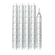 ROHN 45G Tower 45' ft Self Supporting Tower 45SS045 Freestanding ROHN 45G Tower