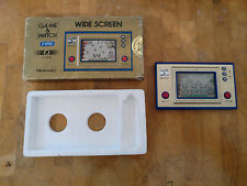 ***FIRE*** FR-27 ITALIAN Stickers on box! NINTENDO 1981 GAME AND WATCH Rare!!!