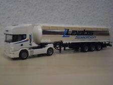 "Herpa - Scania 144 TL Chromtank-Sattelzug ""Spedition Laabs"" - Nr. 145602 - 1:87"