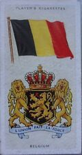 Single: No.4 BELGIUM - NATIONAL FLAGS AND ARMS John Player 1936
