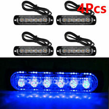 4X 6LED Amber Emergency Flashing Strobe Light Truck car Recovery Beacon lamp UK