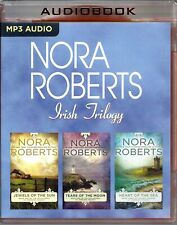 Nora Roberts Irish Trilogy read by Patricia Daniels 3...