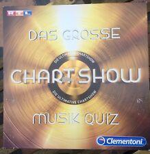 Das große Chartshow Musikquiz RTL Brettspiel, Gesellschaftsspiel, Clementoni