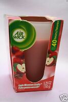 1 AIR WICK APPLE CINNAMON MEDLEY 5.29 OZ 1-WICK FILLED SCENTED CANDLE NEW